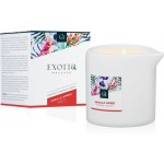 Массажная свеча Exotiq Massage Candle Vanilla 200 мл