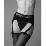 Трусы для страпона c пажами для чулок Rebel Luxury Strap-On Harness, размер L