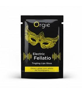 Блеск для губ с вибрацией Orgie, 2 мл - No Taboo