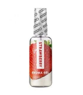 Оральный гель-лубрикант со вкусом клубники EGZO AROMA GEL - Strawberry 50 мл