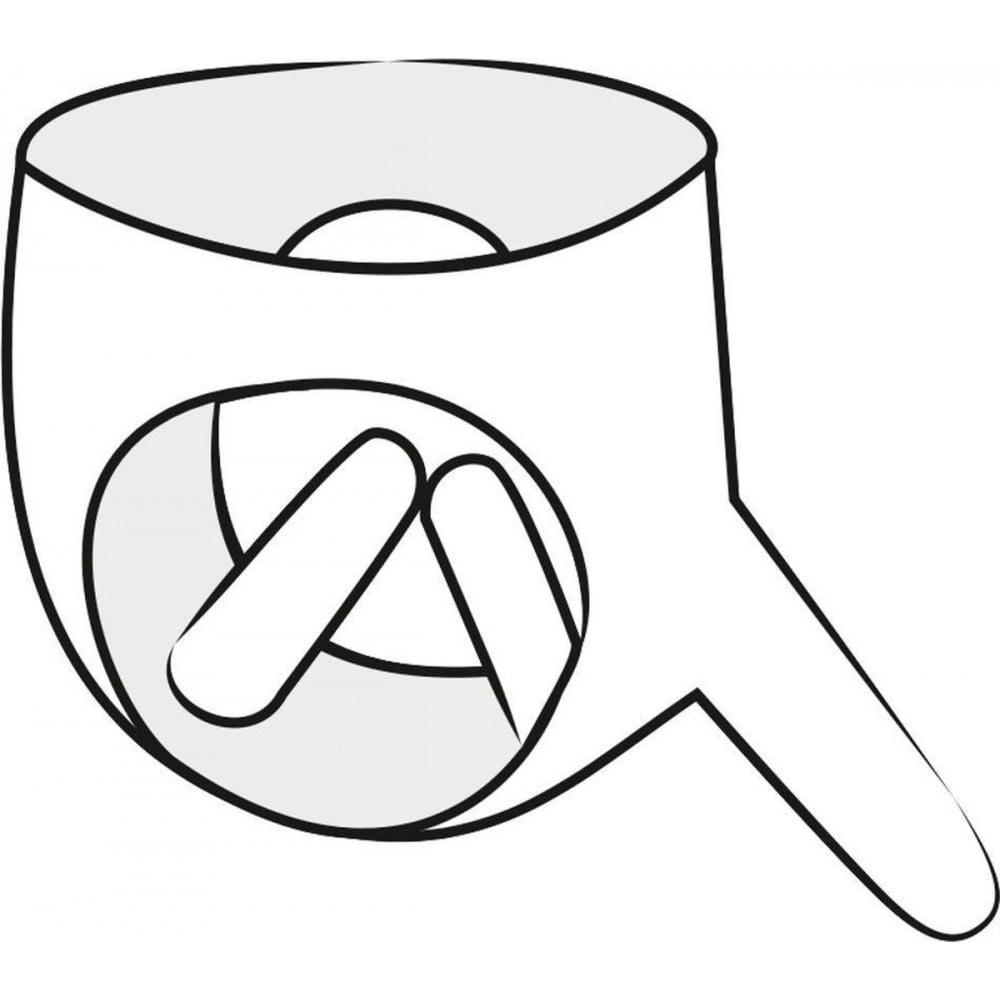 Трусики страпон с 3 фаллоимитаторами LateX, латексный, черный, размеры S, L (40530), фото 3 — секс шоп Украина, NO TABOO