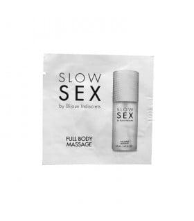 ПРОБНИК. Гель для массажа всего тела Slow Sex, 2мл. - No Taboo