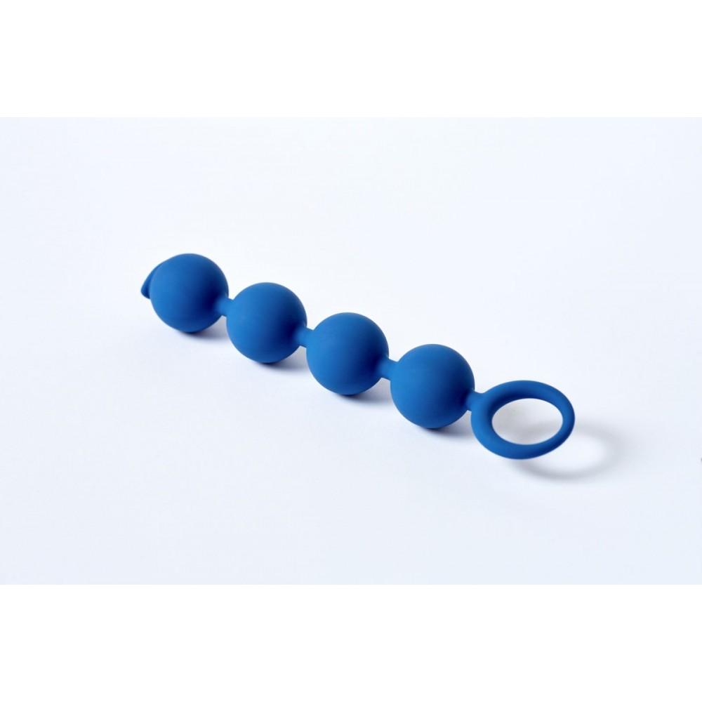 Анальные бусы Core APPULSE LeFrivole синия 15x2.5 см (41933)