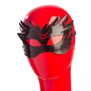 Черная маска из непрозрачного геля NO TABOO (31905), zoom
