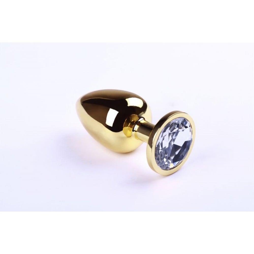 Анальная пробка Gold Diamond, L (30278), фото 1