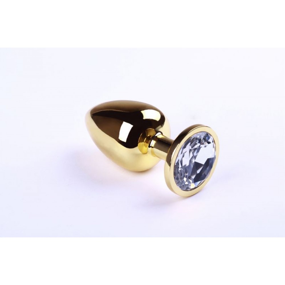 Анальная пробка Gold Diamond, L (30278)