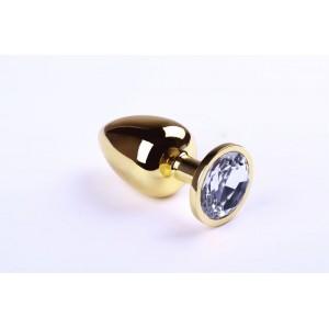 Анальная пробка Gold Diamond, L (30278), zoom