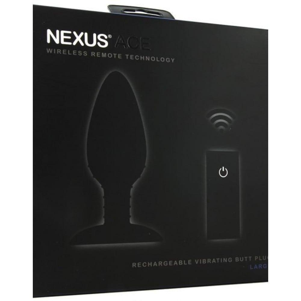 Анальная вибропробка Nexus с дистанционным пультом управления - No Taboo