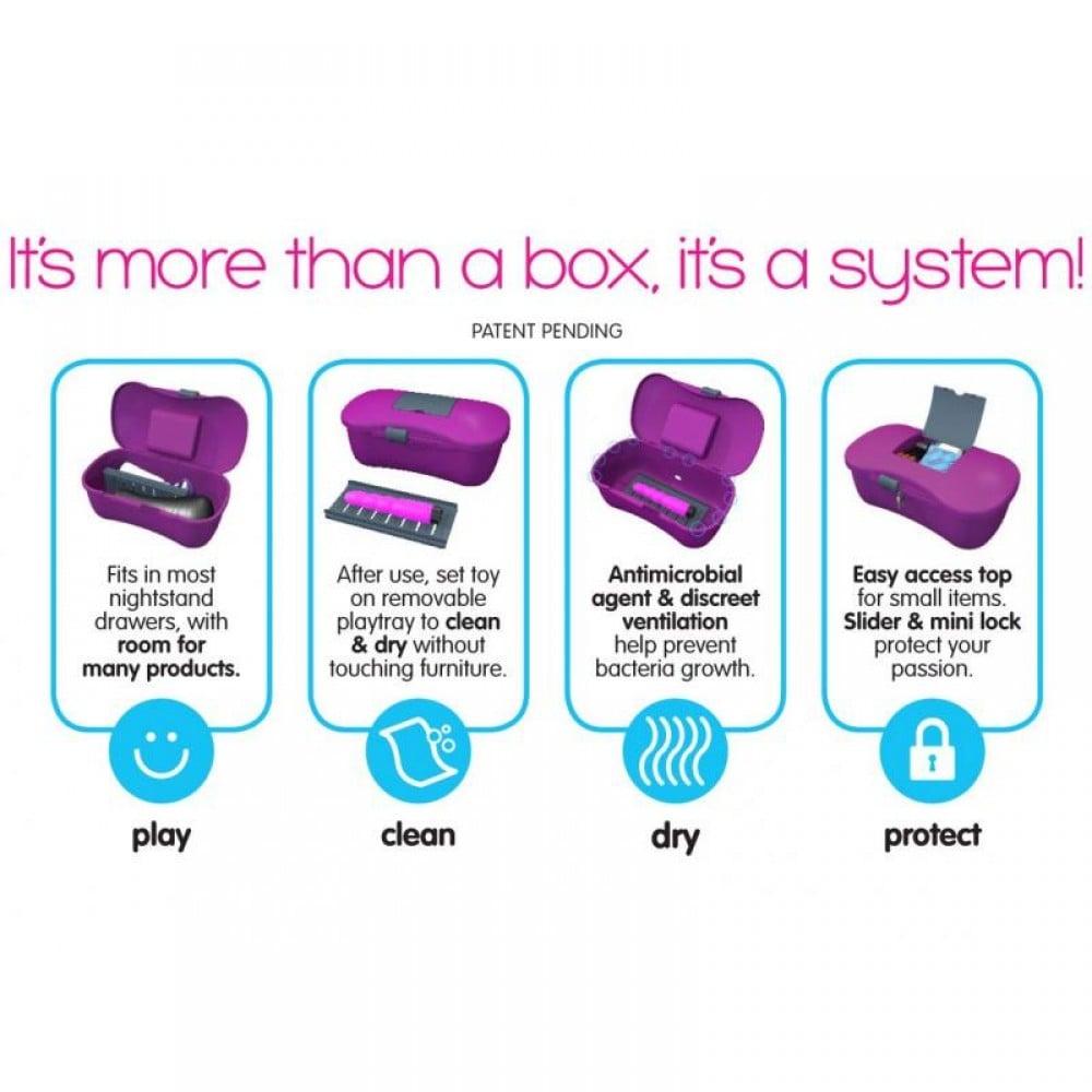 Бокс для хранения игрушек JOYBOXX - HYGIENIC STORAGE SYSTEM PURPLE, фото 10