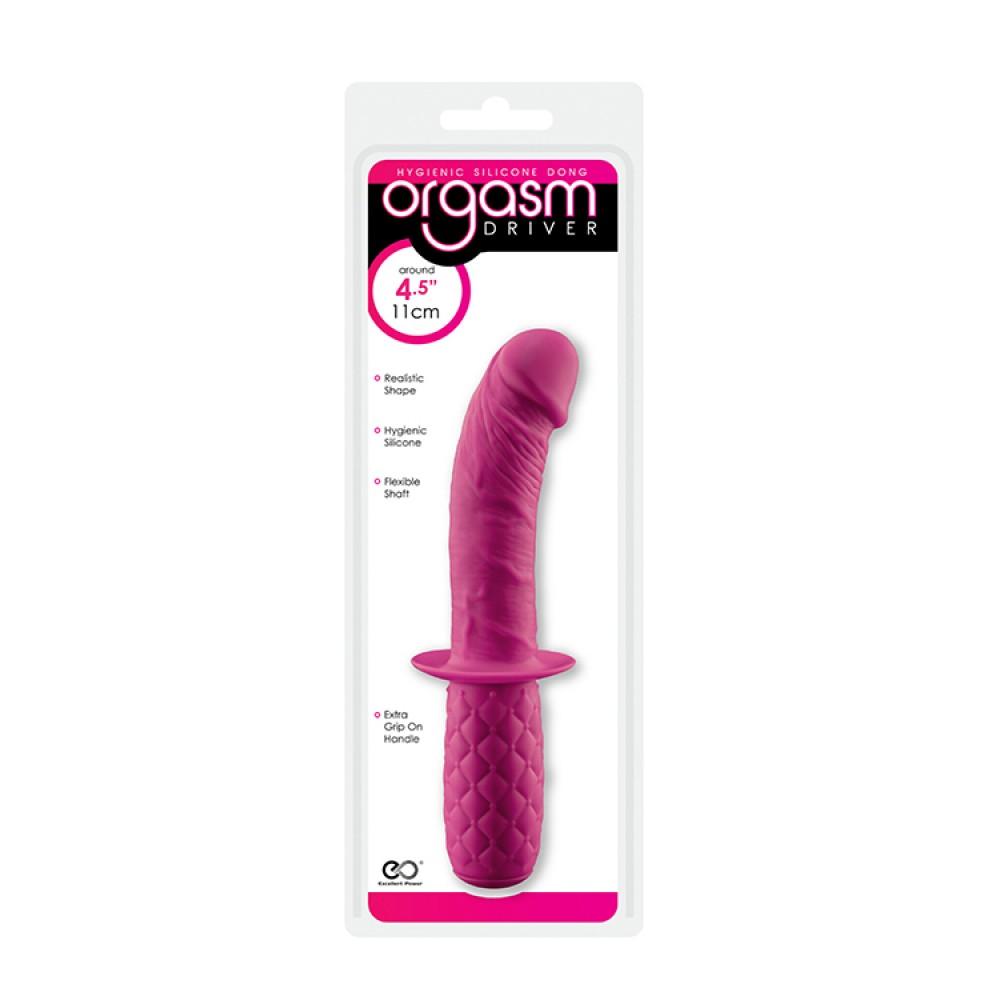 Мини-фаллоимитатор Orgasm Driver Pink Silicone Dong (32596), фото 2