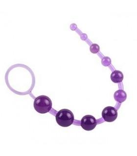 Анальная цепочка, фиолетовая - No Taboo