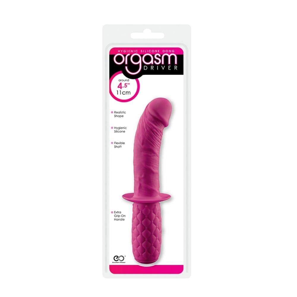 Мини-фаллоимитатор Orgasm Driver Pink Silicone Dong (32596)