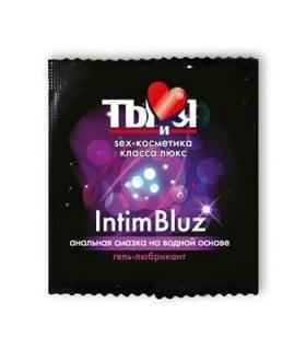 Гель лубрикант Intim bluz, 4 мл - No Taboo