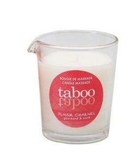 Массажная свеча со сладким цветочным ароматом Taboo - No Taboo