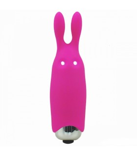 Минивибратор Adrien Lastic Pocket Vibe Rabbit Pink - No Taboo
