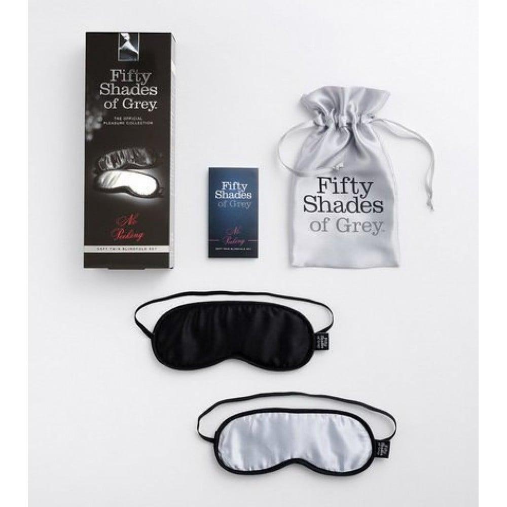 Fifty Shades of Grey - Шелковые маски (50 оттенков серого) (20121), фото 2