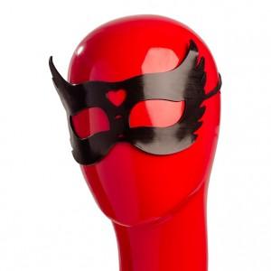 Гелевая черная маска с сердцем NO TABOO (31907), zoom