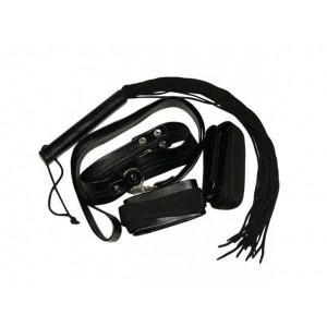 Набор Bad Kitty с ошейником, плёткой и наручниками (3363), zoom