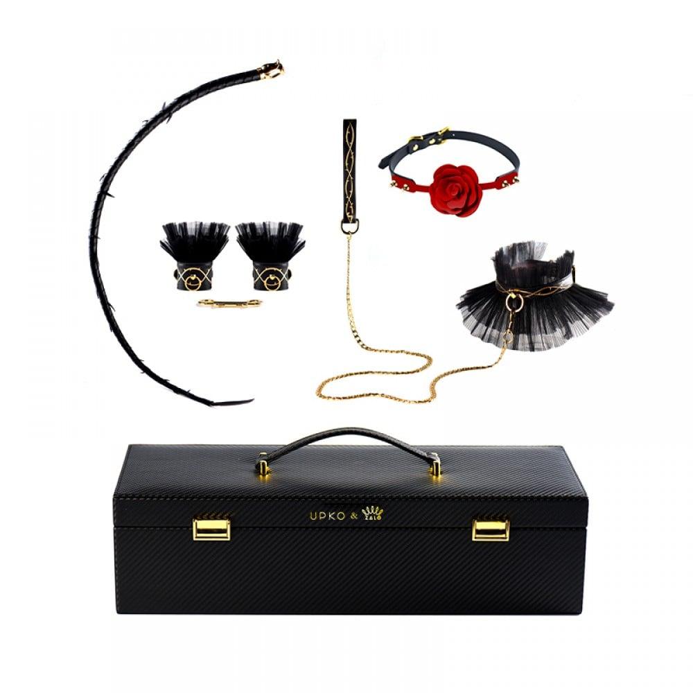 Королевский набор в чемодане Luxurious & Romantic Bondage Play Kit UPKO, фото 1