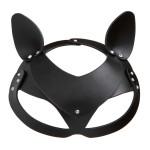 Кожаная маска кошечки NO TABOO