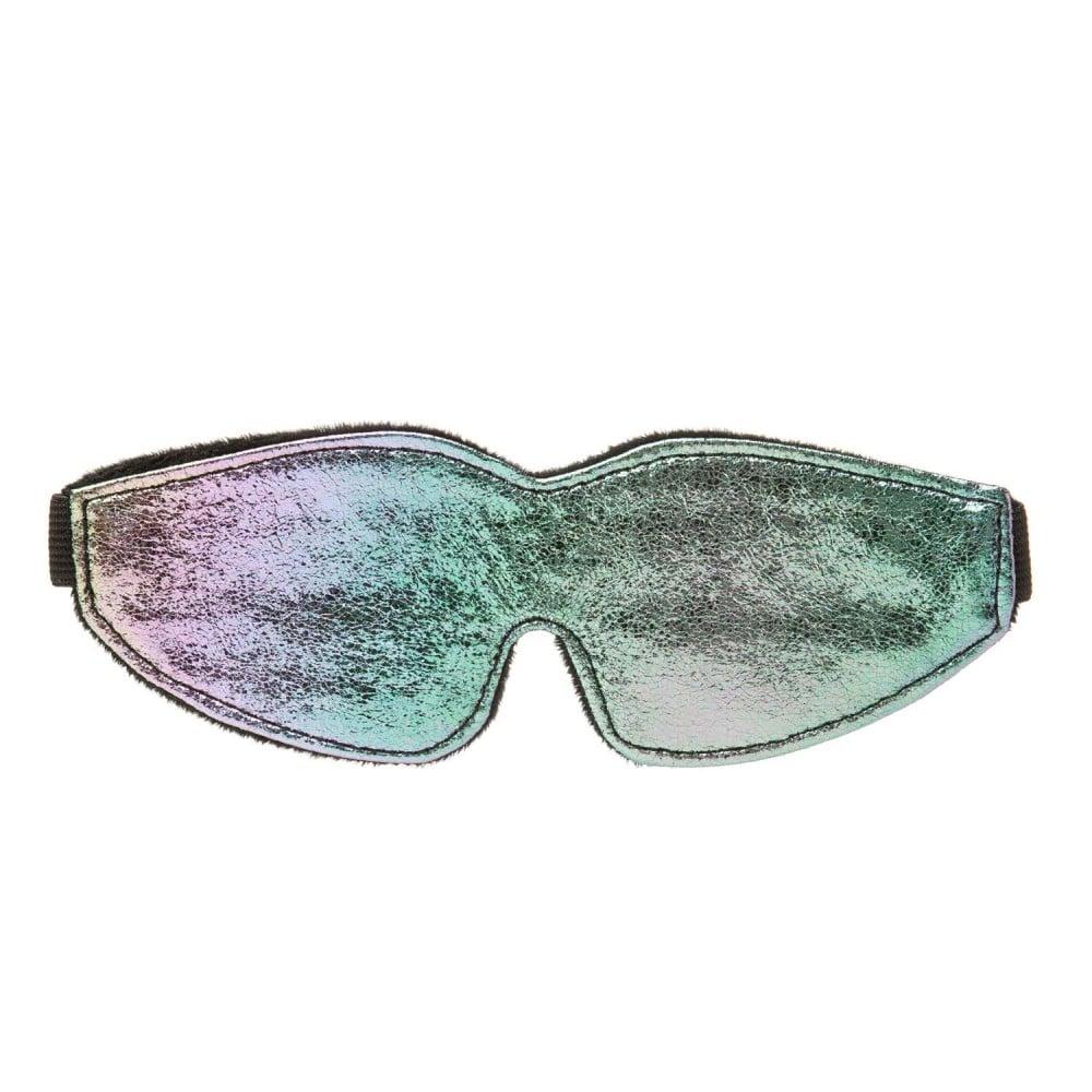 Маска на очі хамелеон підкладка хутро NO TABOO (33106)