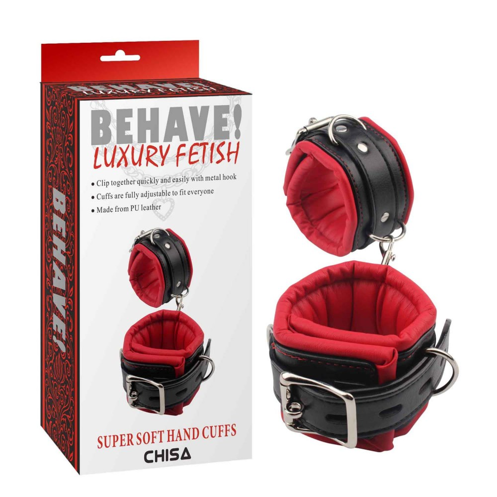 Наручники Behave Luxury Fetish (34801), фото 1 — секс шоп Украина, NO TABOO
