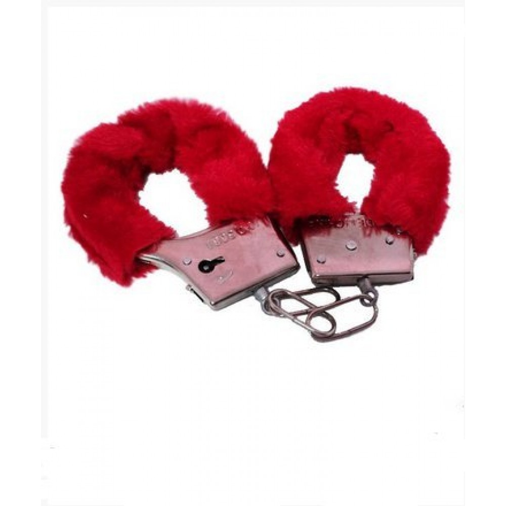Наручники Fur love cuffs (для прикола) (15460), фото 2 — секс шоп Украина, NO TABOO