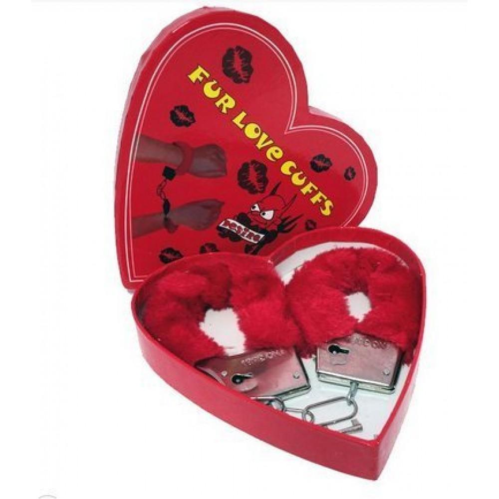 Наручники Fur love cuffs (для прикола) (15460), фото 3 — секс шоп Украина, NO TABOO