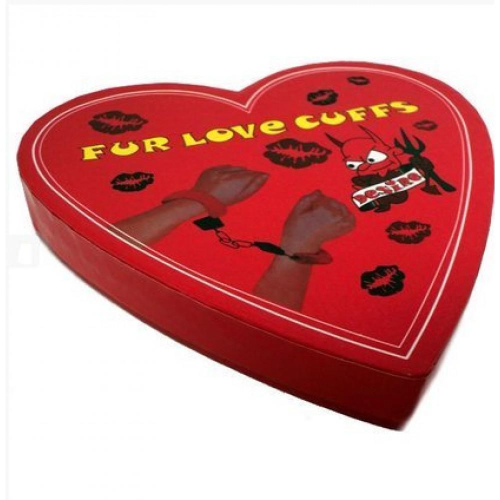 Наручники Fur love cuffs (для прикола) (15460), фото 4 — секс шоп Украина, NO TABOO