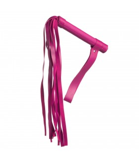 Плетка кожзам 53 см, розовая NO TABOO - No Taboo