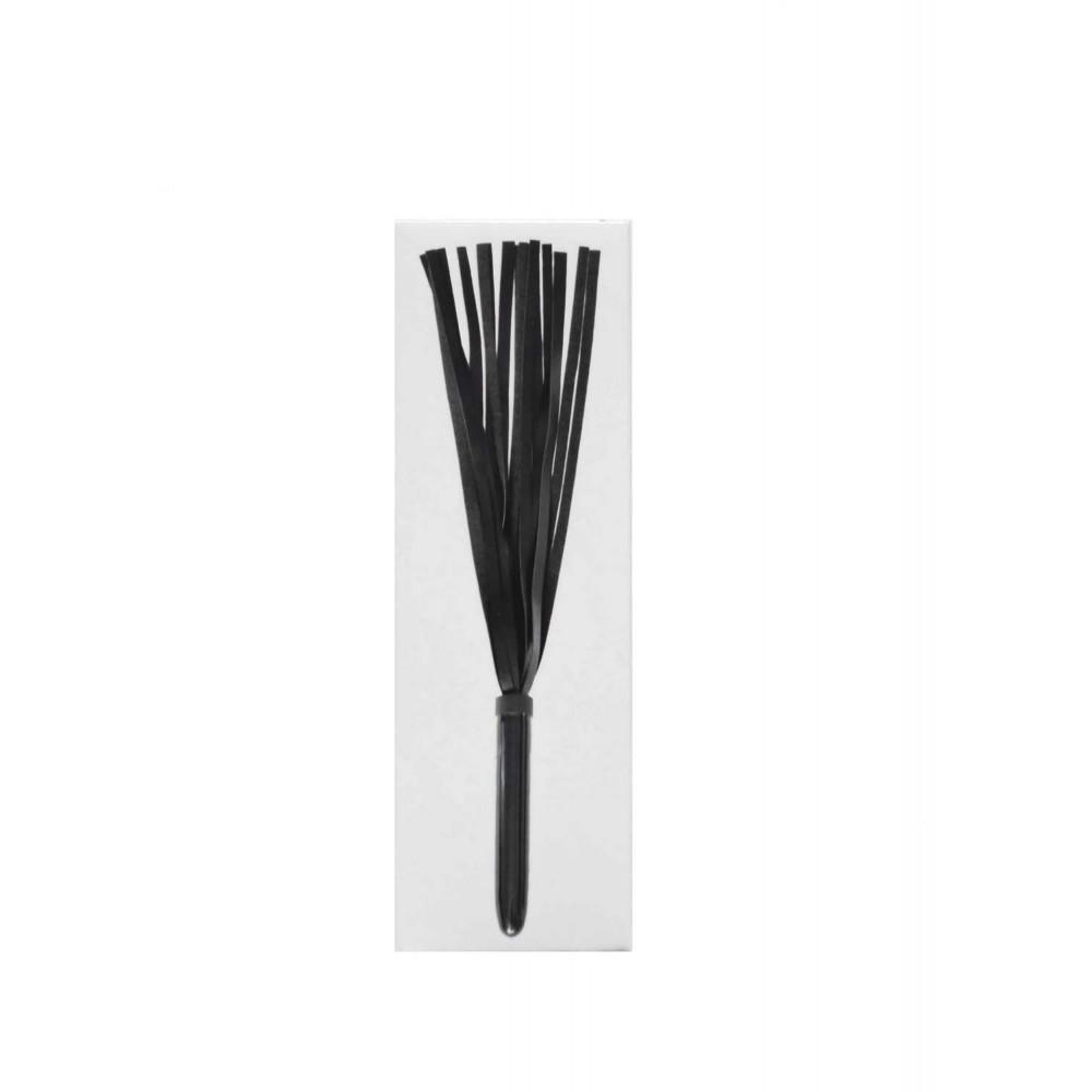 Плетка с пластиковой рукояткой черная NO TABOO (31902), фото 3