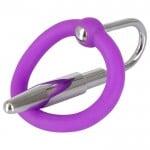 Расширитель с кольцом для мужской уретры (катетер) Penis Plug NO TABOO