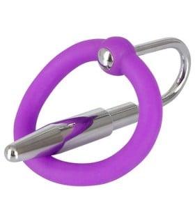 Расширитель с кольцом для мужской уретры Penis Plug - No Taboo