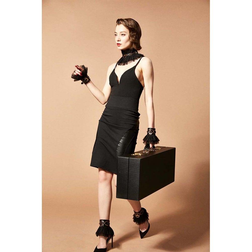 Шкаф-чемодан для БДСМ девайсов кожаный Sade Trunk UPKO (34768), фото 13