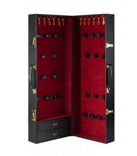 Шкаф-чемодан для БДСМ девайсов кожаный Sade Trunk UPKO - No Taboo