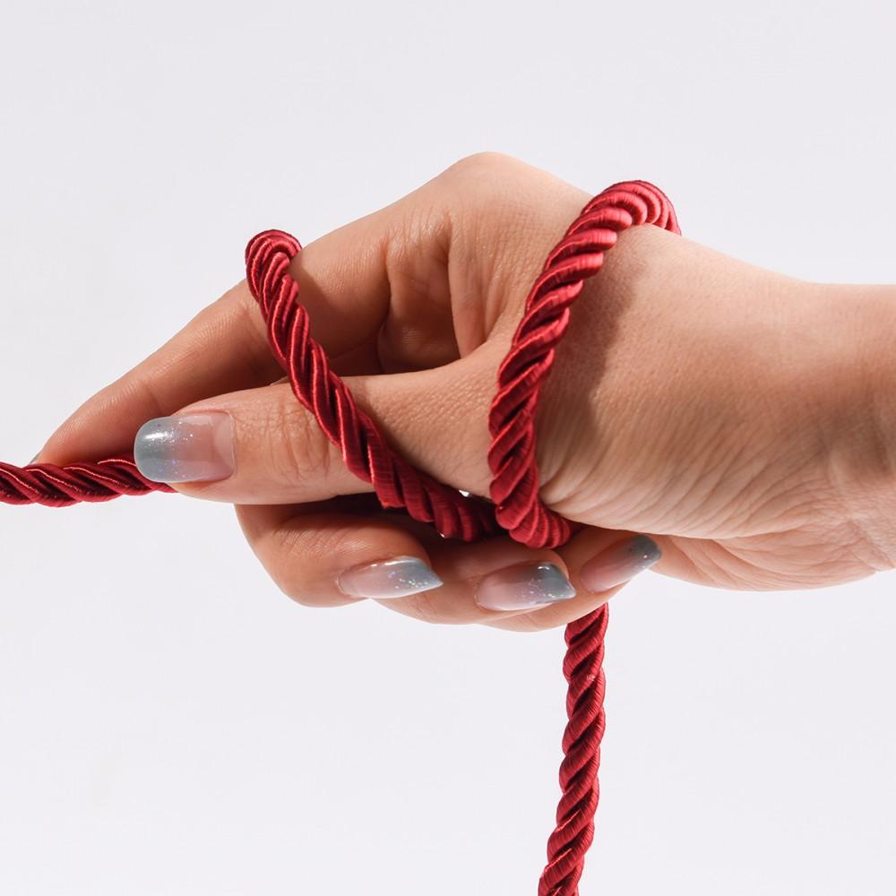 Веревка для бандажа 10м Restraint Bondage rope UPKO золотая - No Taboo