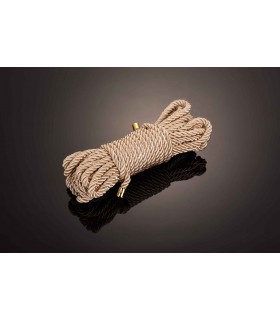 Веревка для бондажа 10м Restraint Bondage rope UPKO золотая - No Taboo