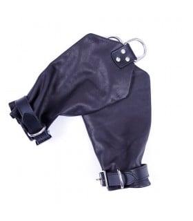 Рукавиці для підвішування шкіра Голландія чорна ручна робота - No Taboo