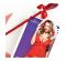 Сексуальный красный пеньюар с кружевом S/M (34629), фото 9 — секс шоп Украина, NO TABOO