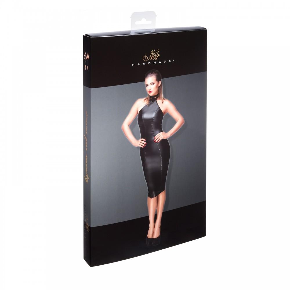 Сексуальное черное платье Госпожи с чокером на шею XXL (31936), фото 6 — секс шоп Украина, NO TABOO