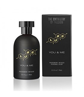 Духи с феромонами для пар Lure Black Label You Me - No Taboo