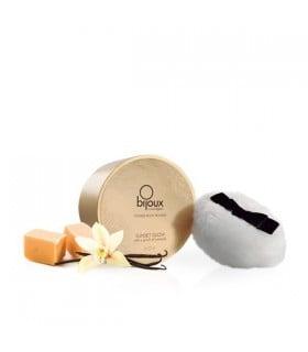Мерцающая пудра для тела со вкусом соленой карамели, Bijoux Indiscrets - No Taboo