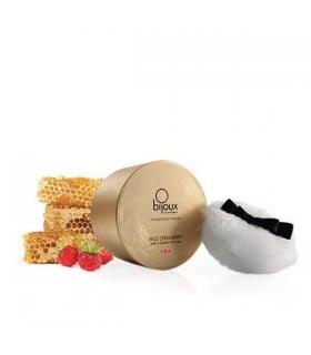 Мерцающая пудра для тела со вкусом земляники и меда, Bijoux Indiscrets - No Taboo