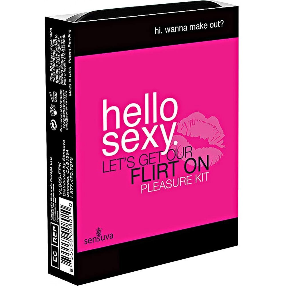 "Набор удовольствий Sensuva - Hello Sexy Pleasure Kit ""Давай пофлиртуем"" - No Taboo"