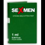 Духи с феромонами мужские SEXMEN зеленый карт., 1 ml