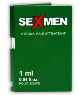 Духи с феромонами мужские SEXMEN зеленый карт., 1 ml - No Taboo