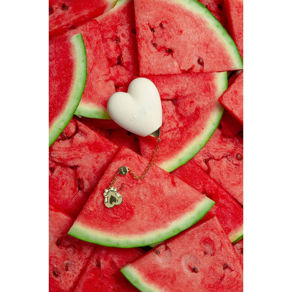 Вибратор для стимуляции клитора в форме сердца Strawberry Pink ZALO Baby Heart (24838), фото 20 — секс шоп Украина, NO TABOO
