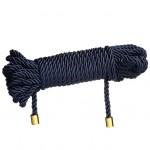 Веревка для бондажа 10м Restraint Bondage rope UPKO синяя