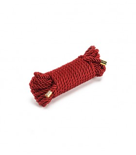 Веревка для бондажа UPKO Restraint Bondage, красная - No Taboo