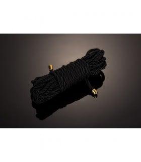 Мотузка для бондажа UPKO Restraint Bondage Rope чорна, 10 м - No Taboo